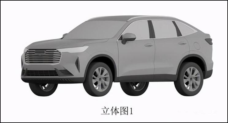 溜背还是驼背?哈弗H6跨界SUV专利图曝光