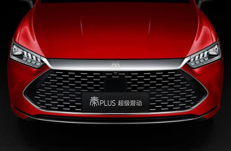 15.5超高压缩比!比亚迪秦PLUS广州车展首发