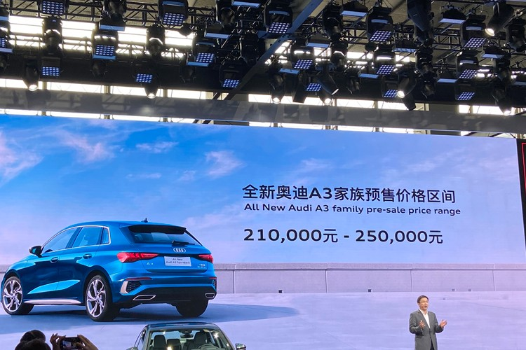 2020广州车展:全新奥迪A3家族预售21万起