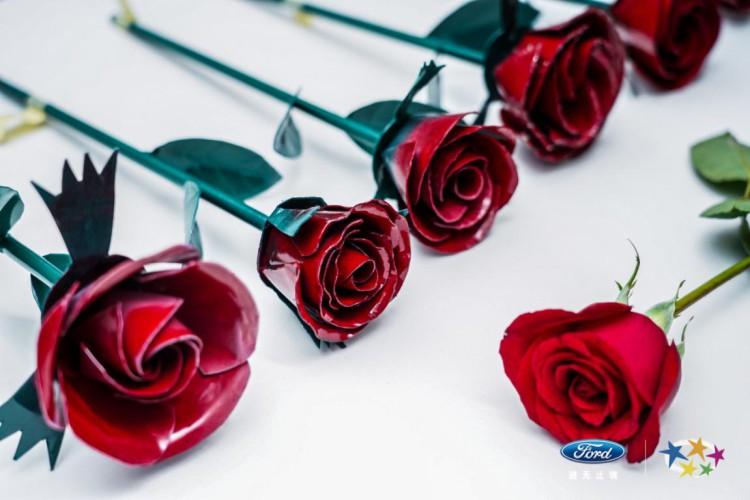 钢板做玫瑰,砂纸磨气球?长安福特是要闹哪样?