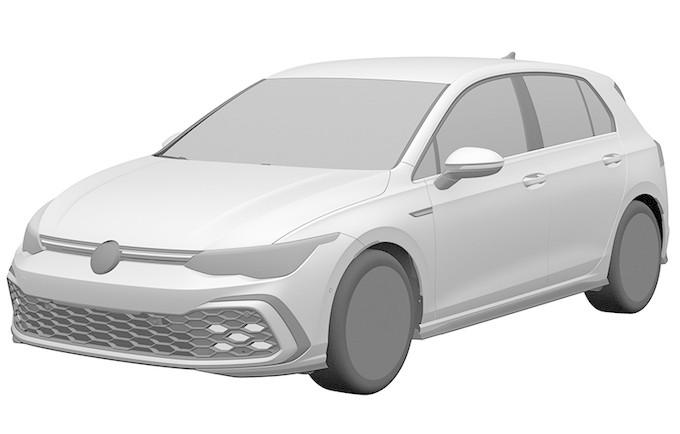 钢炮气质尽显 新一代高尔夫GTI专利图曝光