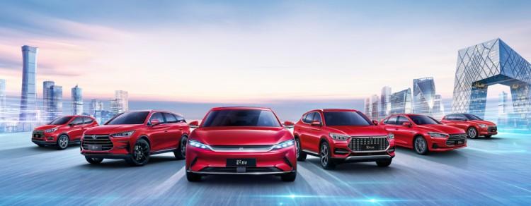 逆势向上 比亚迪乘用车2020年销售416337辆