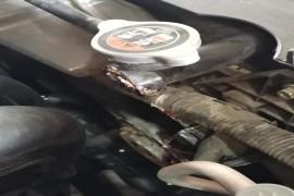 一汽马自达cx-4水箱漏水