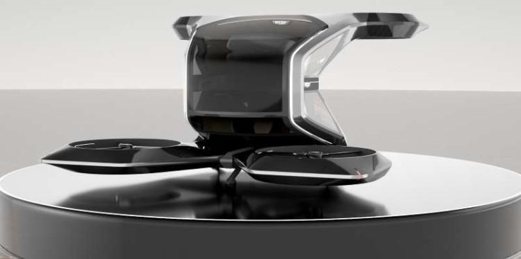 CES2021:凯迪拉克VTOL垂直起降飞行器