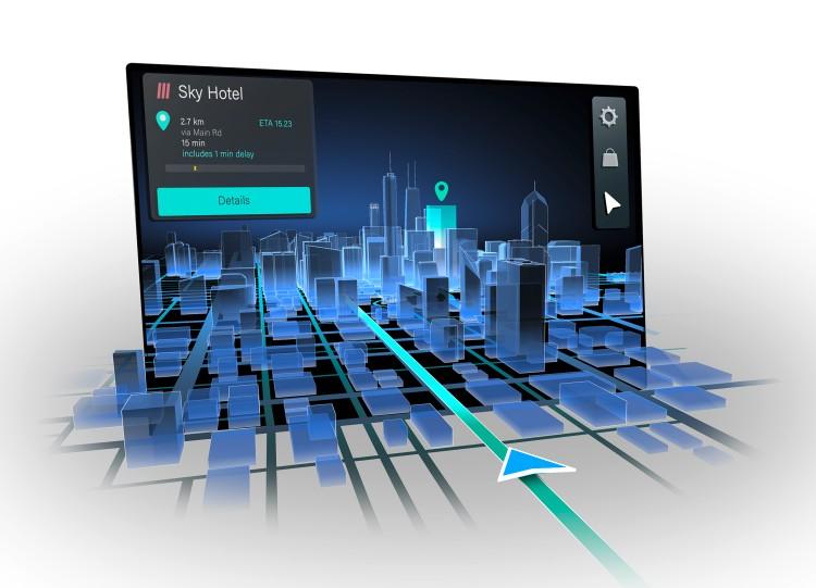 大陆、HERE和Leia研发裸眼3D汽车导航