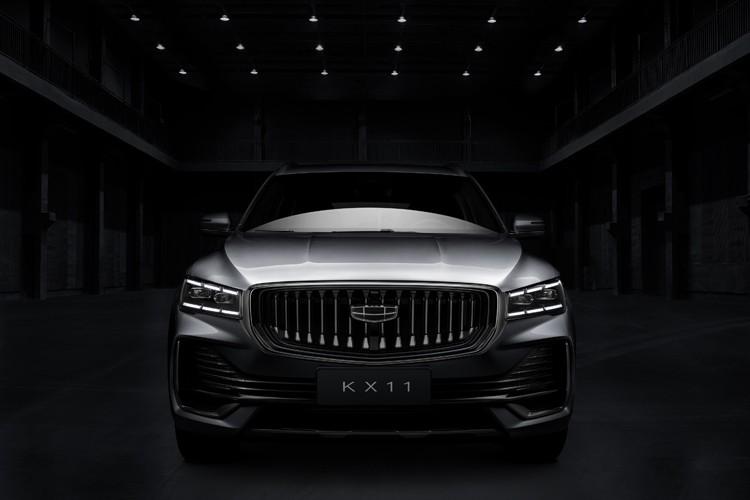 全新旗舰SUV 吉利KX11将上海车展亮相
