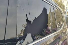 途昂--车窗玻璃居然自爆