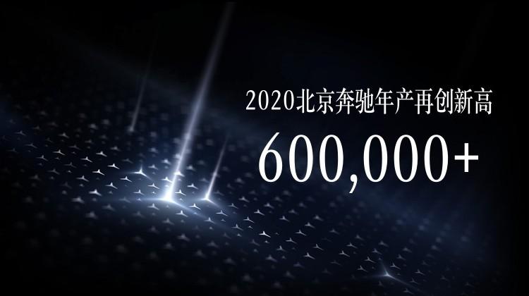 年产量突破60万辆 北京奔驰高品质发展再迎全新里程碑