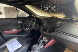 长安马自达CX3车辆自燃