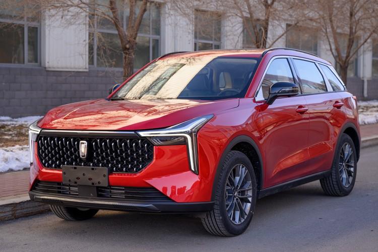 又一款高颜值国产SUV 奔腾T55将于3月上市