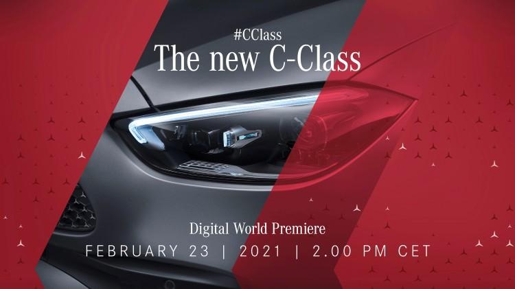 全系配轻混动力 新一代奔驰C级即将首发