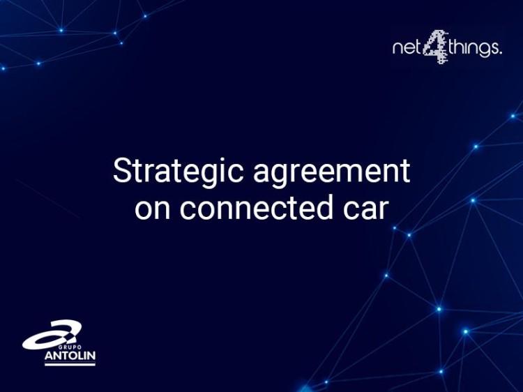 开发联网汽车 安通林与Net4Things合作