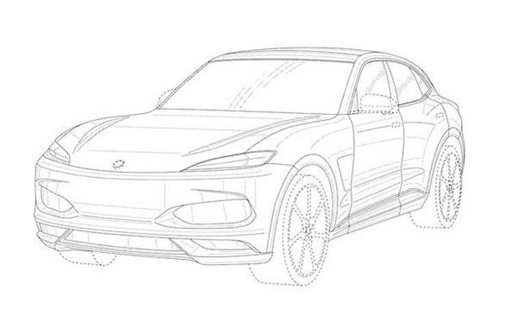 搭流行设计元素 Karma新SUV专利图曝光
