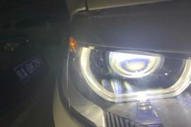 车辆大灯灯罩内有异常纹路
