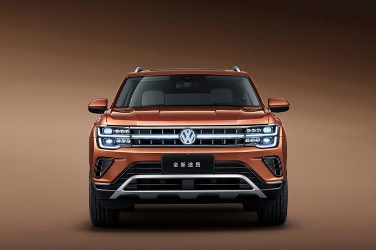 """VW""车标能发光!新款大众途昂/途昂X官图发布"