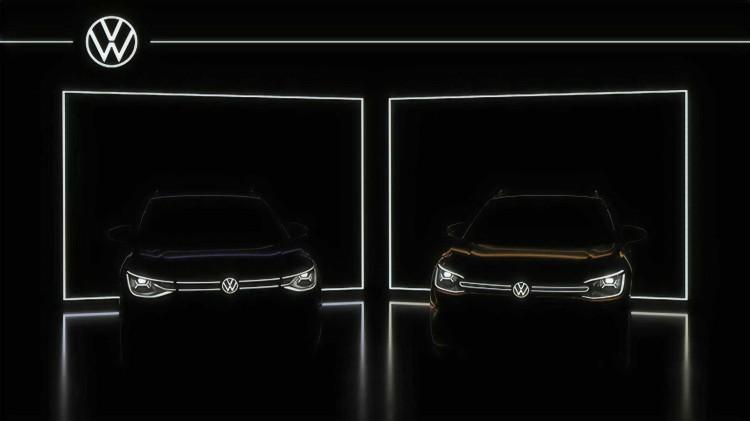 """""""VW""""车标能发光 大众ID.6最新预告图发布"""