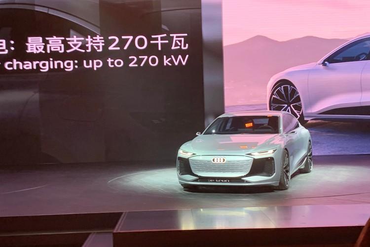 2021上海车展:奥迪A6 e-tron概念车首发