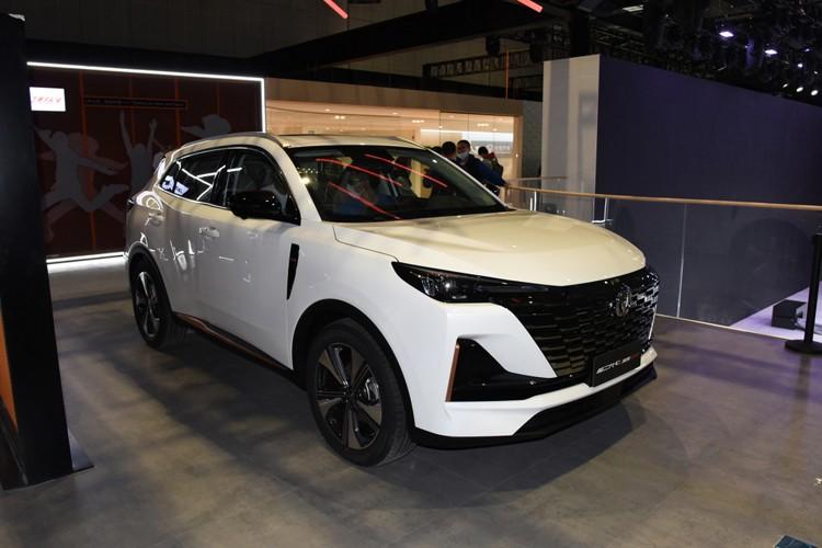 2021上海车展:长安CS55PLUS正式首发