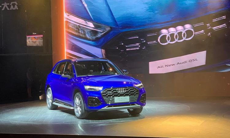 2021上海车展:中期改款奥迪Q5L正式发布