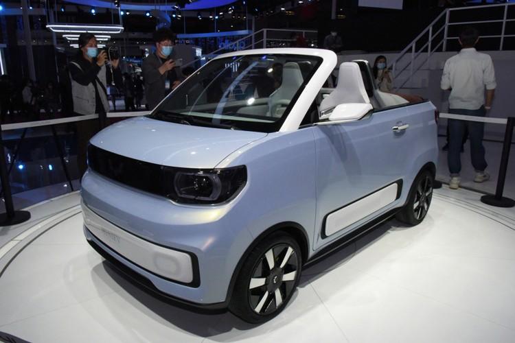 2021上海车展:宏光MINIEV敞篷版发布