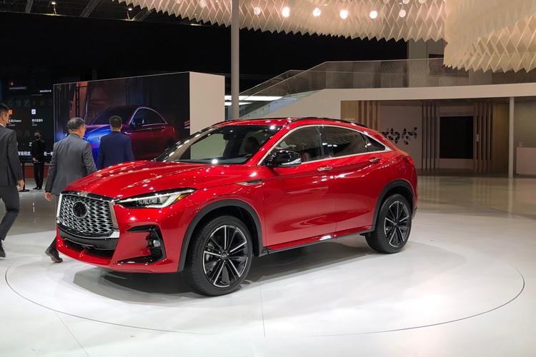 2021上海车展:英菲尼迪QX55国内发布
