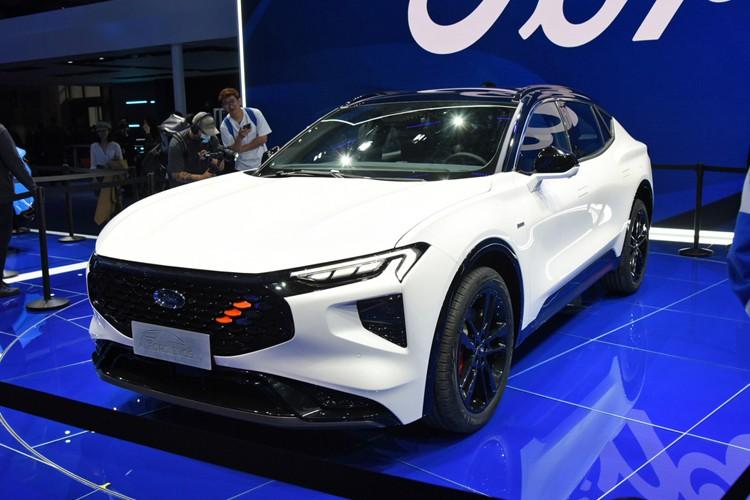 2021上海车展:长安福特EVOS正式首发