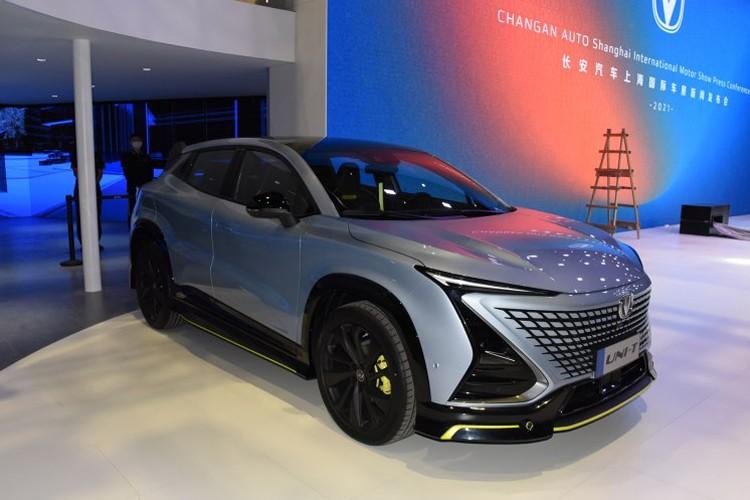 2021上海车展:长安UNI-T运动版亮相