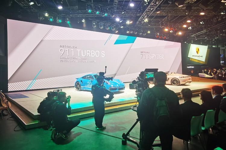 2021上海车展:911 Turbo S纪念版售311.45万元