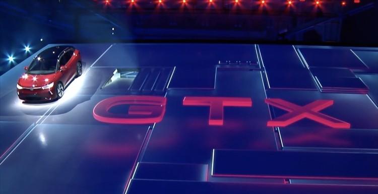 纯电高尔夫GTI既视感 大众ID.4 GTX发布