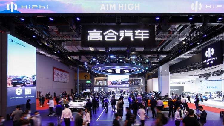 售价57万至80万元 高合汽车携HiPhi X四款新车型亮相上海车展
