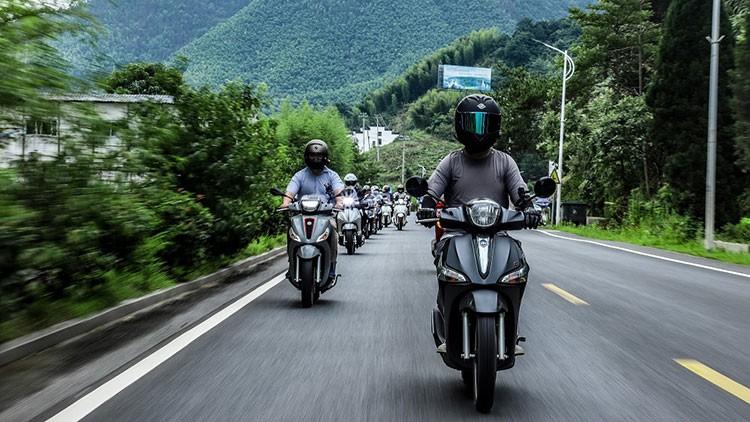 这场骑行,值得你为它跨越山海 2021 PIAGGIO MORNING中国骑行太平湖之旅