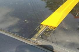天窗质量有问题造成车内泡水
