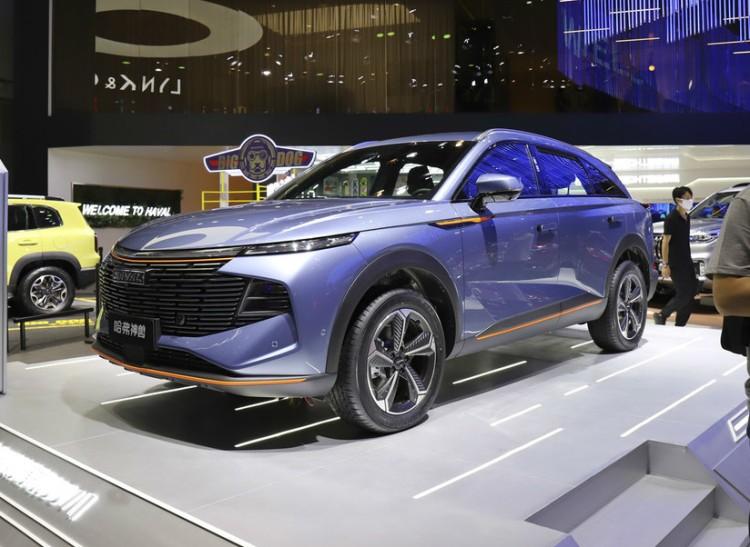 2021成都车展:中型SUV哈弗神兽正式发布