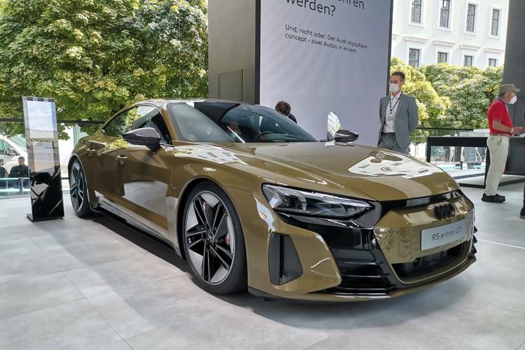 奥迪电动王!全新四门轿跑车能否取代RS7?