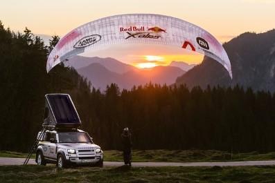 全新路虎卫士见证Christian Maurer第七度夺冠红牛X阿尔卑斯山极限穿越赛