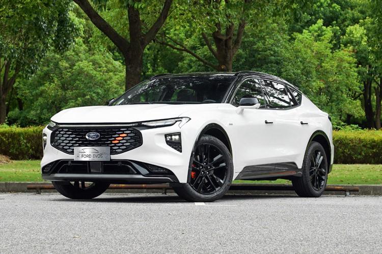 中型跨界轿跑SUV 福特EVOS预售22.78万起