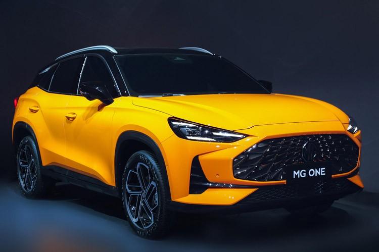 提供两种前脸设计 MG ONE将于10月29日开启预售