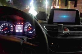 车辆启动中控多媒体蓝屏,进不去。