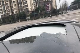 车天窗不明原因爆了