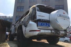 1年的新车就自燃烧毁了