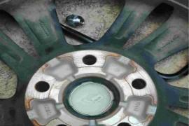 逸动plus轮毂生锈严重
