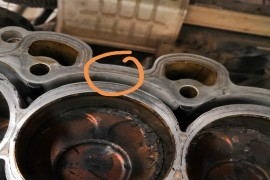 发动机漏防冻液