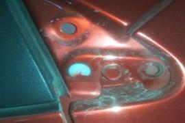 喷漆有问题,维修后有零件脱落,后期服务态