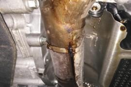 发动机渗漏机油