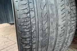 东风本田思域,轮胎脱皮