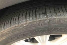 翼虎轮胎起皮严重威胁安全