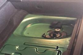 后备箱漏水