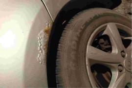 车身严重生锈车架快锈透了严重影响行驶安全