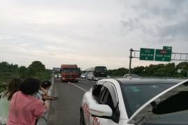 日产逍客在高速路上突然无法启动