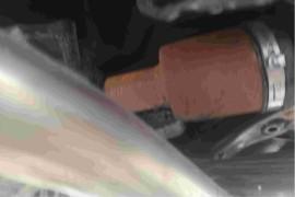 新车提车发现车后轴生锈严重